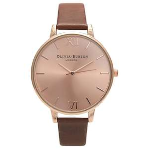 Olivia Burton Women's Big Dial Watch was £82 NOW ONLY £41, 6 different colours available @ John Lewis
