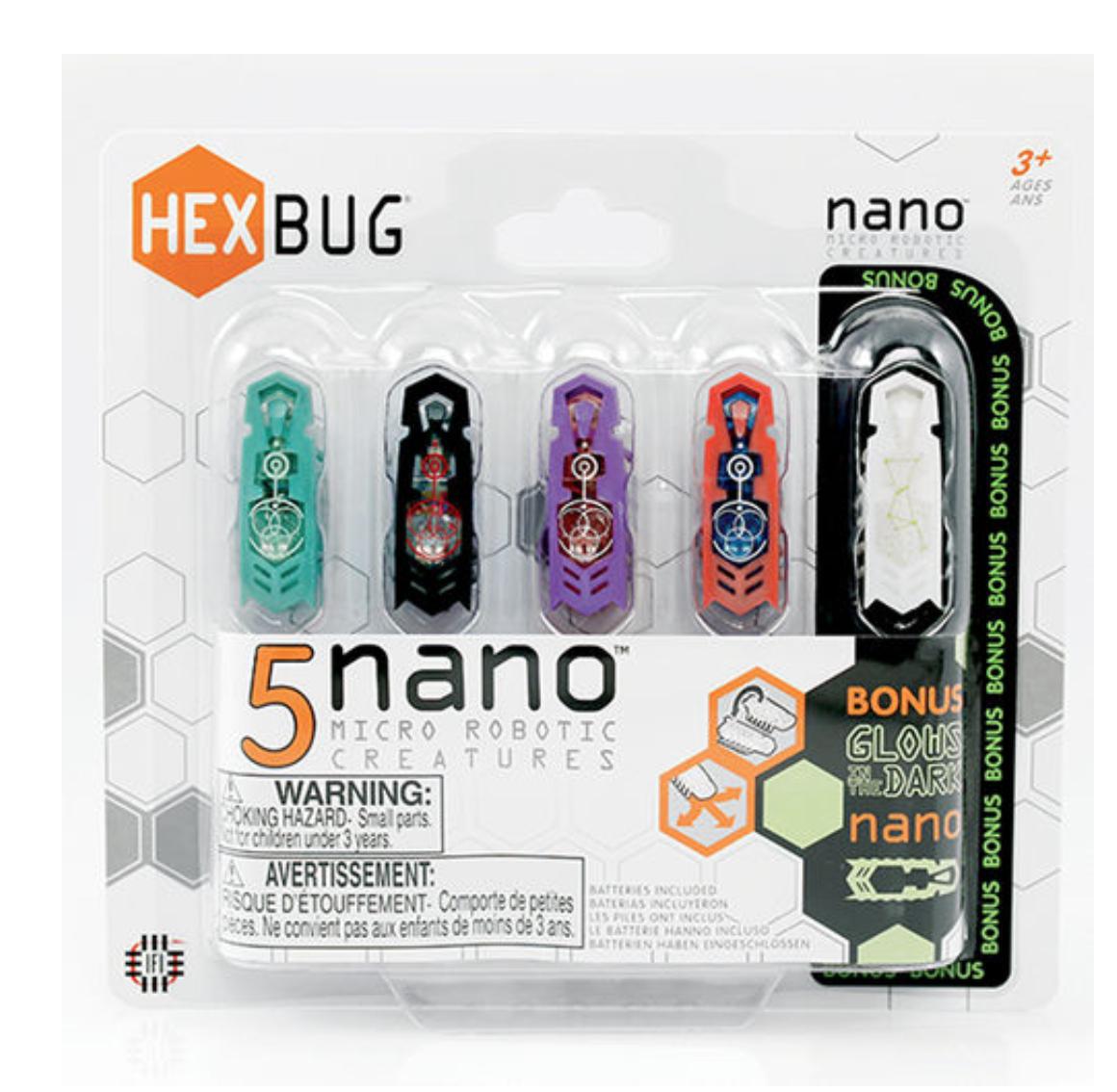 HEXBUG Nano 5 Pack @ £9.98 (C&C only) - Toys R Us