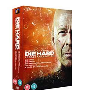 Die Hard DVD boxset £10 Prime / £11.99 Non Prime @ Amazon