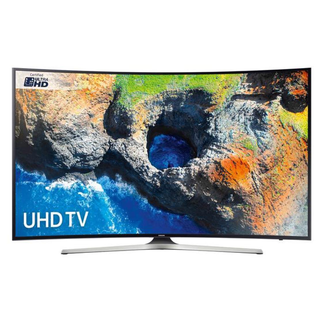 Samsung UE55MU6220 Black - 55inch 4K Ultra HD Curved TV - £529 with code - Co-op Electrical