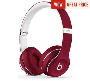 Beats Solo2 On-Ear Headphones Luxe Edition - Red £99.99 -  Argos