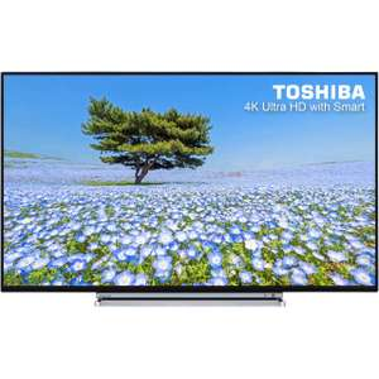 "Toshiba 49U6763DB 49"" Freeview HD and Freeview Play Smart 4K Ultra HD TV - Black / Chrome £349 - ao.com"