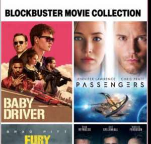 4 Films 4K HDR Starter pack £24.99 Day 26 on iTunes