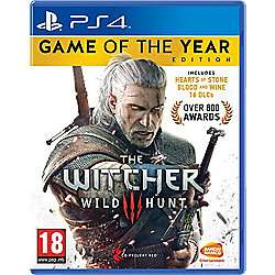 [PS4] The Witcher 3: Wild Hunt – Game of the Year Edition [£16]  *Tesco* Free C&C