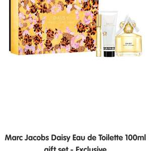 Daisy Marc Jacobs 100ml gift set £51.99 Boots