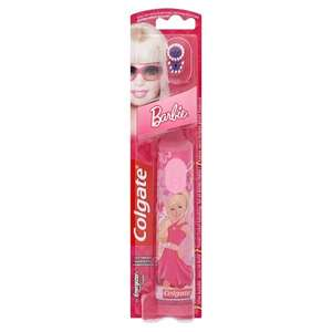 Colgate Barbie Extra Soft Battery Kids Toothbrush £2.98 (Free C&C) at Superdrug