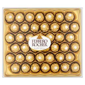 42 Ferrero Rocher £5 / 1.2kg Quality Street £4 / Quality Street, Roses & Heroes tubs (660g-750g) £3 (Available to order online) @ Morrisons