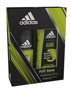 Adidas Pure Game Body Spray and Shower Gel Duo Gift Set 99p  (Prime) / £4.98 (non Prime) at Amazon