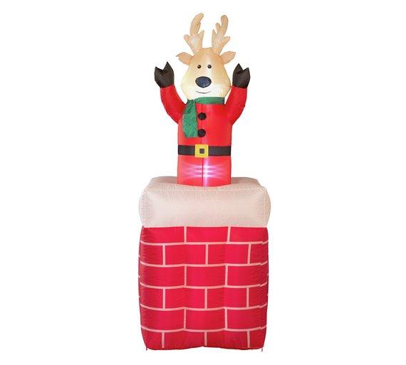 Argos bobbing inflatable reindeer £14.99