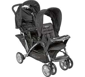 Graco stadium duo tandem pushchair at Argos for £49.99