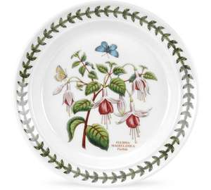 Portmeirion Botanic Garden Ceramic Set of 6 Tea Plates reduced to 21:00 From 69:99