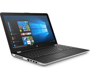 "HP 15.6"" 8th gen i5 full HD laptop - Silver at Currys for £399"