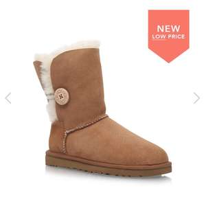 Women's chestnut bailey button uggs at Shoeaholics for £79.20