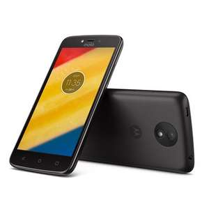 A Moto C Plus, sim free at Argos, in red and black £79.99