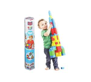 Mega Bloks First Builders Tube of 100 pieces - £7.49 - Argos