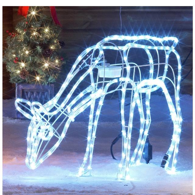Light up nodding reindeer £9.99 @ Argos