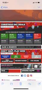 xmas day only codes for x% off controllers, psplus etc - Game