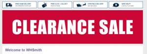 WHSmith - CLEARANCE SALE