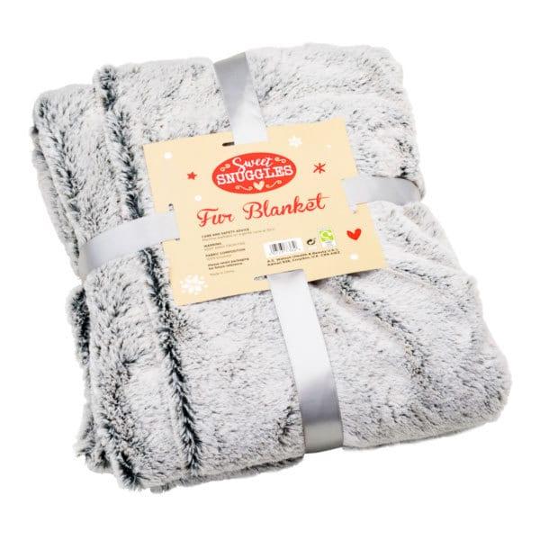 Superdrug Snuggles Faux Fur Blanket WAS £30, NOW £6.99 @ Superdrug