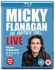 Micky Flanagan - An' Another Fing Live [Blu-ray] £5 Prime / £6.99 Non Prime @ Amazon