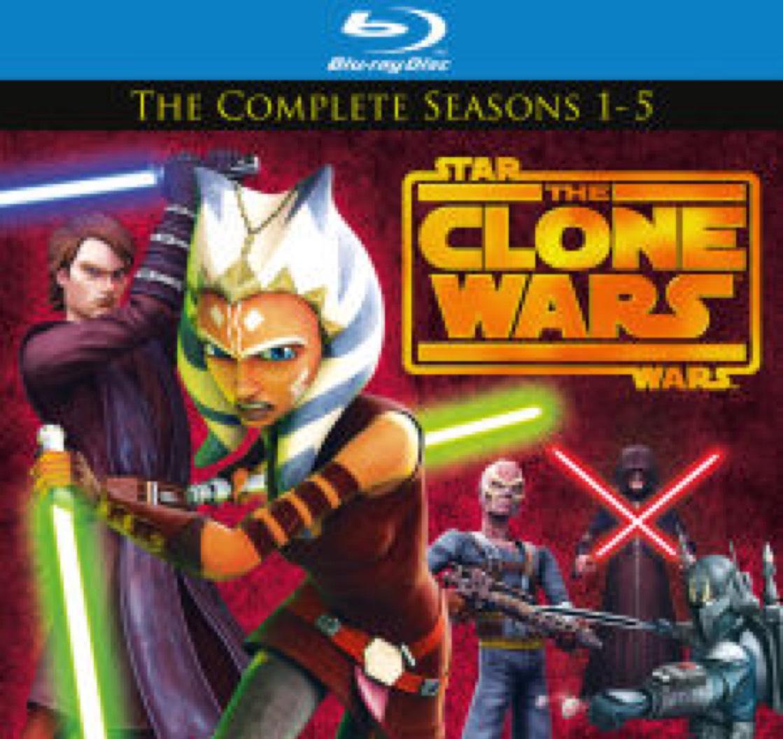Star Wars Clone Wars Season 1 - 5 Blu-ray £29.99 @ Zavvi