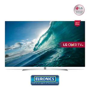 LG OLED55B7V TV £1399 with code and includes free HDMI lead - PRC Direct