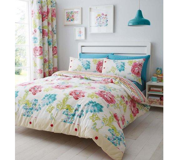 Catherine Lansfield Multicoloured- King £8.40 - Argos
