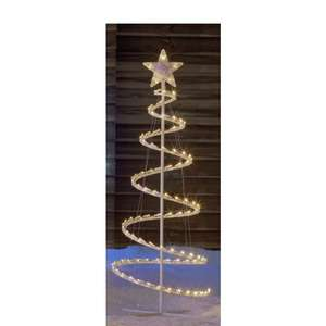 LED spiral Christmas tree £8.49 - Argos