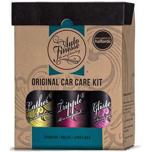 Halfords - Auto Finesse Original Car Care Kit - £21.06 @ Halfords