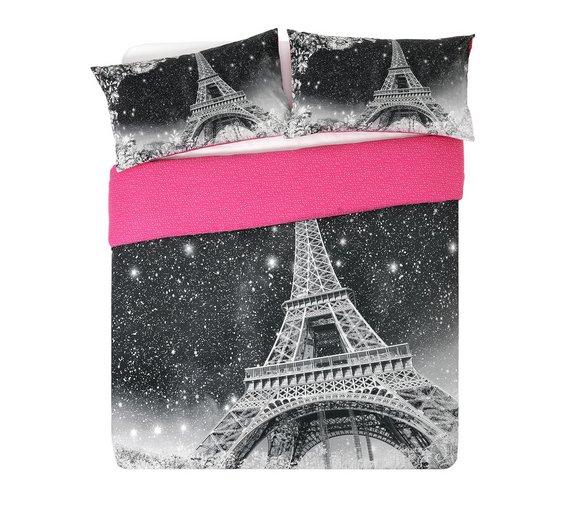 HOME Paris by Night Bedding Set - Kingsize £5.99 @ Argos