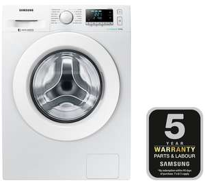 Samsung WW90J5456MW 9KG 1400 Spin Washing Machine White + 5 Year Warranty = £350.99 @ Argos