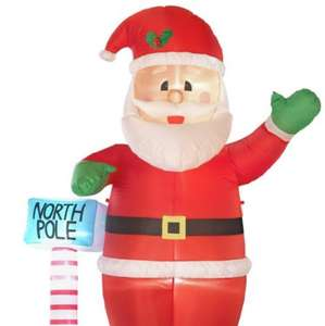2.5m inflatable Santa at Argos for £15.99
