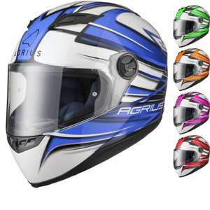 Agrius Rage Motorcycle Helmet (pinlock ready) 71% off was £79.99 now £22.99 at Ghostbikes