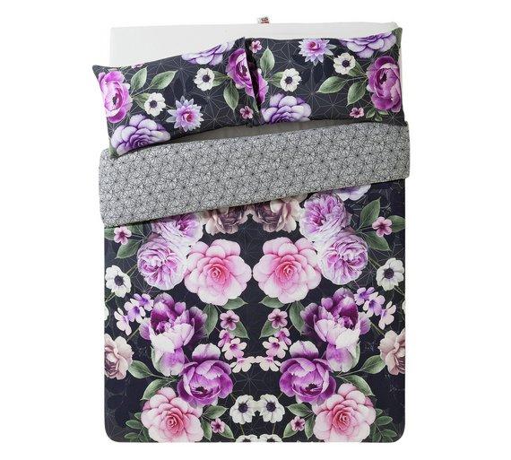 Collection Azalea Digital Floral Bedding Set - Double at Argos for £9.99
