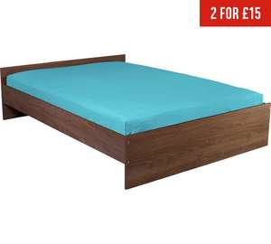 KING-SIZE fitted Bed Sheet @Argos for £2.49