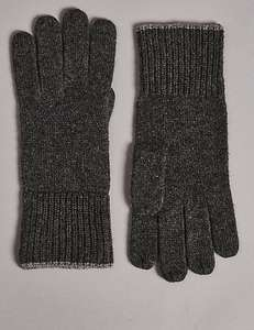 Men's and women's cashmere gloves from M&S from £19.75
