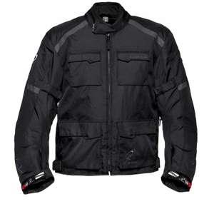65% Off Black Venture Motorcycle Jacket Now £34.99 @ GhostBikes Was: £99.99