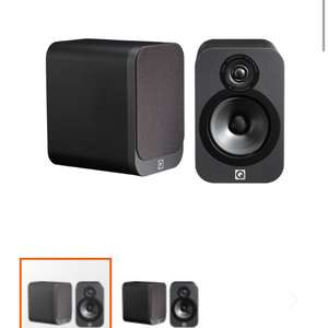 Q Acoustics 3020 bookshelf hifi speakers @richer sounds £119