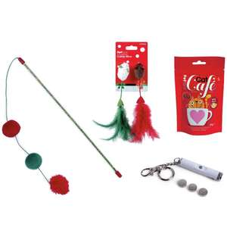 Petface cat Christmas bundle £4.99 @ Argos