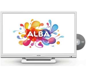 Alba 24 Inch HD Ready LED TV/DVD Combi - White £99.99 @ Argos, save £40.