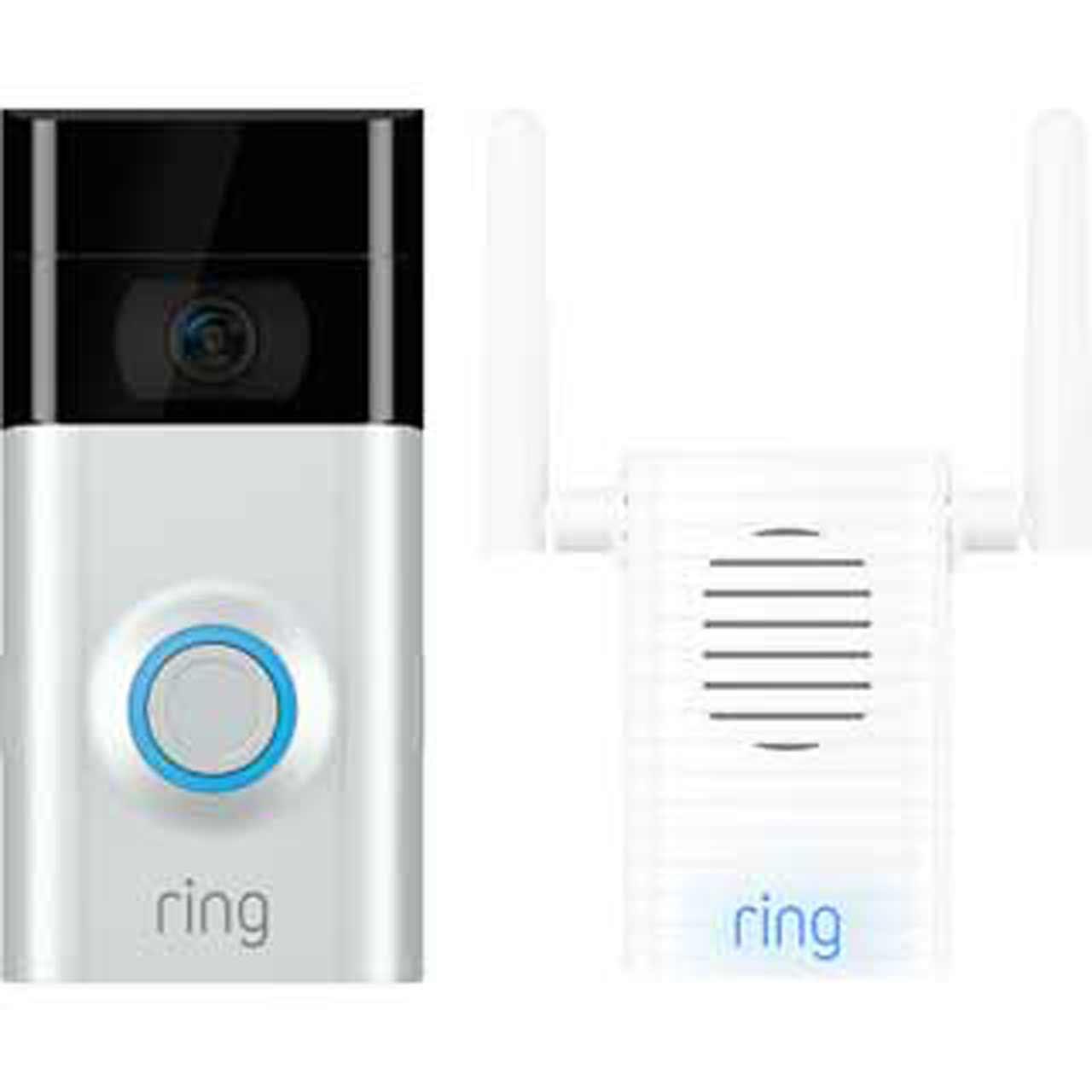 Ring Video Doorbell V2 & Chime Pro Bundle 169.00 @ AO.com