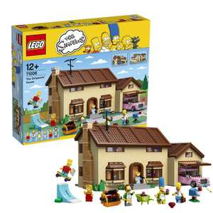 The Simpsons™ House - RETIRED - UN-RETIRED!!! £189.99 @ Lego