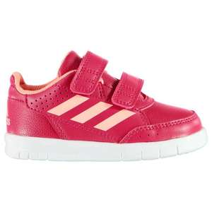 Adidas Alta Sport Infant Girls Trainers( Free standard delivery bu using code) £10 @ Sports direct