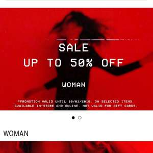 Bershka Sale upto 50% off