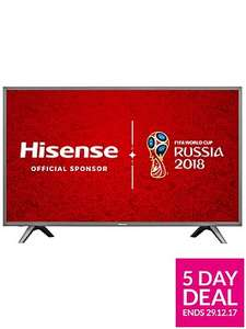 Hisense H60NEC5600UK 60 inch, 4K, Freeveiw Play, Smart TV £629.99 / £633.98 delivered @ Very