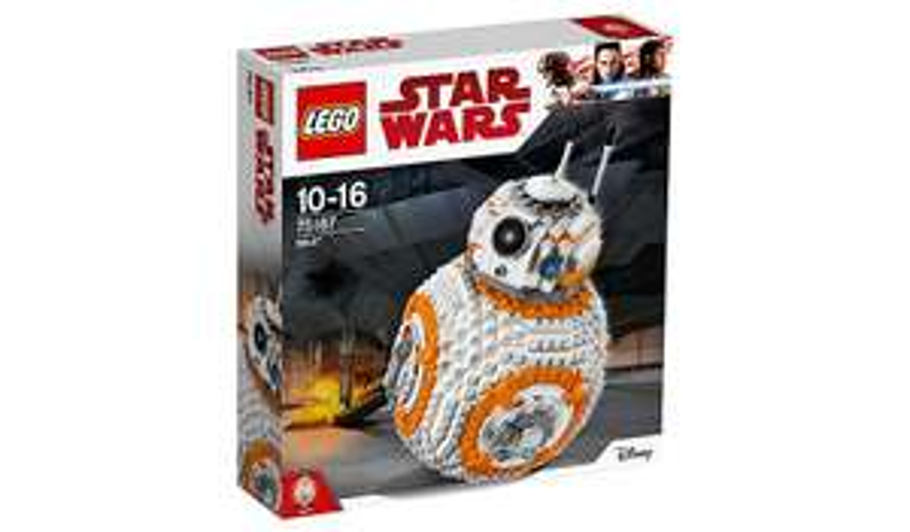 LEGO Star Wars BB-8 - 75187 £50 (Asda Direct)