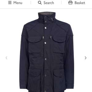 Hackett London Winter Velospeed Coat, Navy £187 @ John lewis