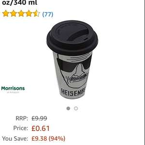 Pyramid International mug 61p  down from £9.99 @ Amazon prime now