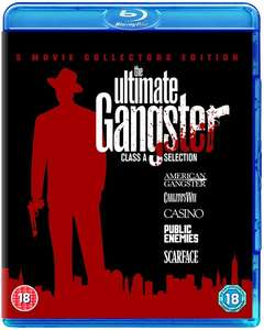 Ultimate Gangster Collection (5 Blu-Ray Box Set) £7.01 Delivered (Using Code) @ Zoom (£7.69 @ Amazon W/ Prime)