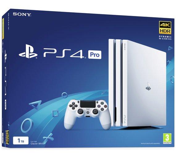 Sony PS4 Pro 1TB Console - White + Horizon Zero Dawn Complete Edition + Extra Controller = £299.99 @ Argos (£10 voucher through vouchercodes)